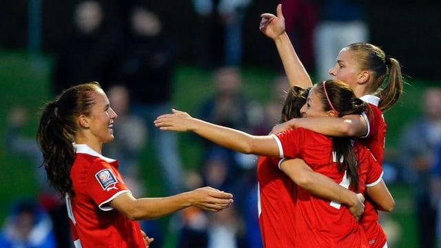 Die Schweizer Frauen haben derzeit gut lachen.