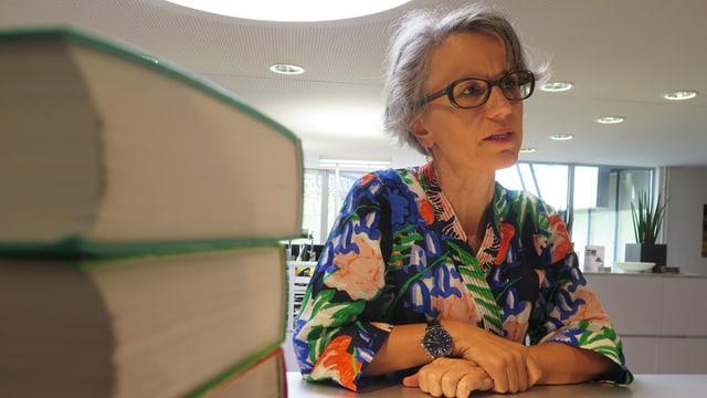 Die Frauenfelder Buchhändlerin Marianne Sax