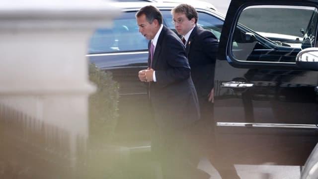 Der Republikaner John Boehner auf dem Weg ins Weisse Haus.