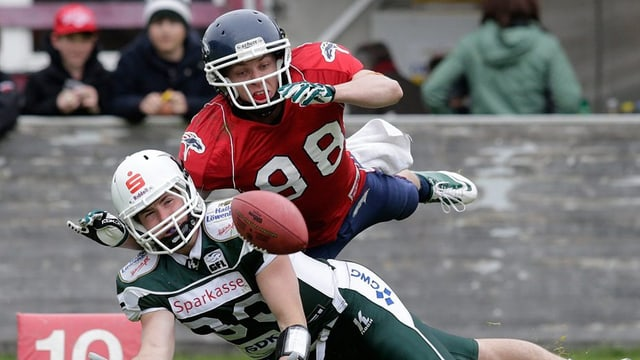 Dus giugaders d'American Football