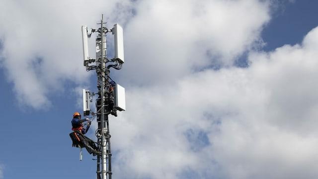 Antenna per la telefonia mobila ed in tecnicist.