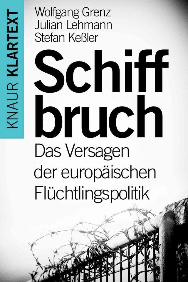 Buchcover: Stacheldrahtzaun, darüber Schrift.
