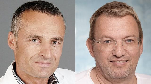 Porträt der beiden Chat-Experten.