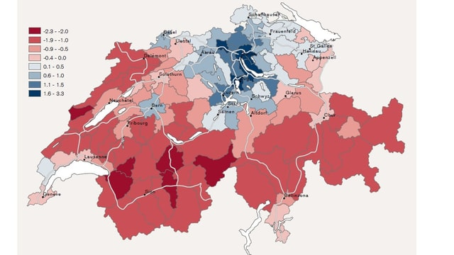 Schweizer Karte