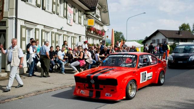 Rennwagen in Hemberg