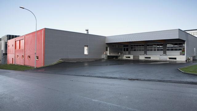 Die Produktionshalle der Bäckerei Hug