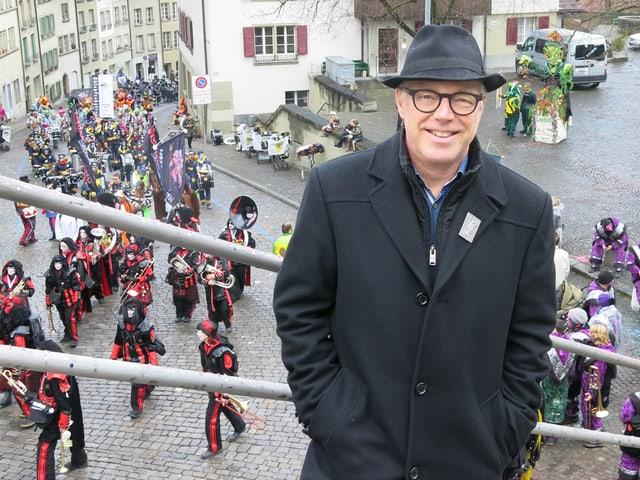 Das Bild zeigt Thomas Göttin, SP-Stadtrat und seit Anfang Jahr höchster Berner.