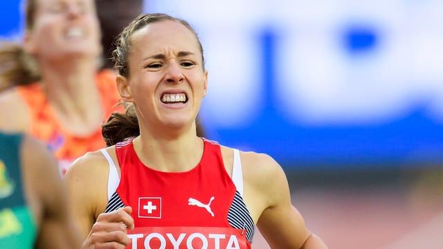 L'atleta svizra Selina Büchel