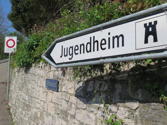Wegweiser Jugendheim