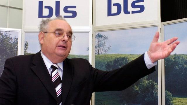 Zu sehen ist der frühere BLS-Direktor Mathias Tromp.