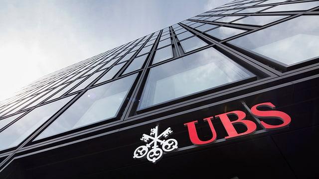 Il logo da la banca UBS.