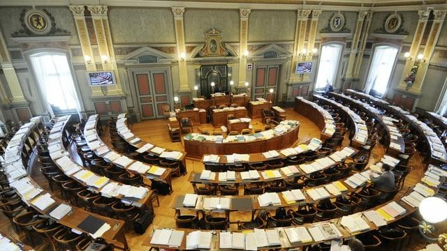 Der St. Galler Kantonsratssaal