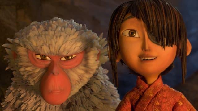 Auf dem Bild sieht man Kubo und Monkey.
