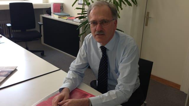 Peter Emmenegger ist beim Kanton Luzern Projektleiter Justizvollzugsgesetz.