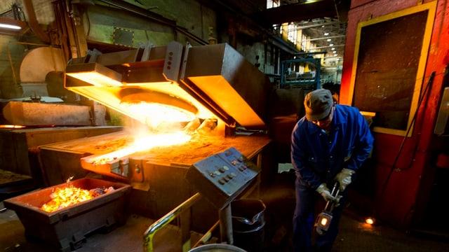 L'industria da metal vegn stimada mender il november ch'anc l'october.