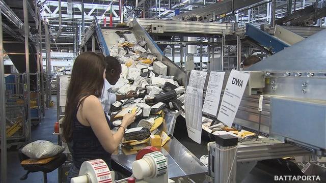 Laschar ir video «Ils pachets bunmartgads da la China»