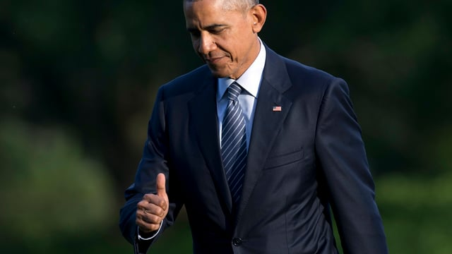 Obama chaminond cun mussar il polisch vers ensi.