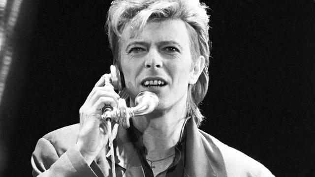David Bowie 1987 in Berlin.