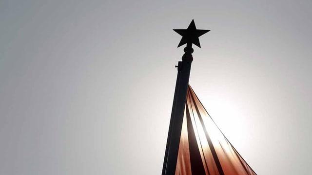 Chinas Flagge.
