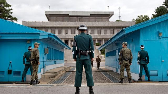 Nordkoreanische Demarkationslinie