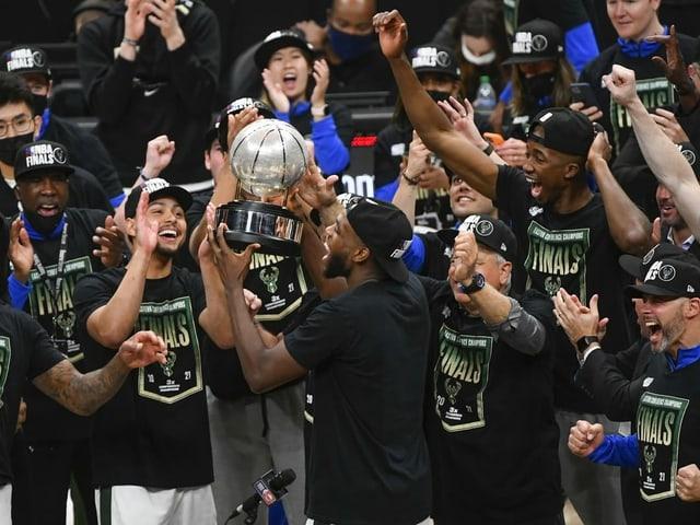 Die Bucks stehen in den NBA-Finals.