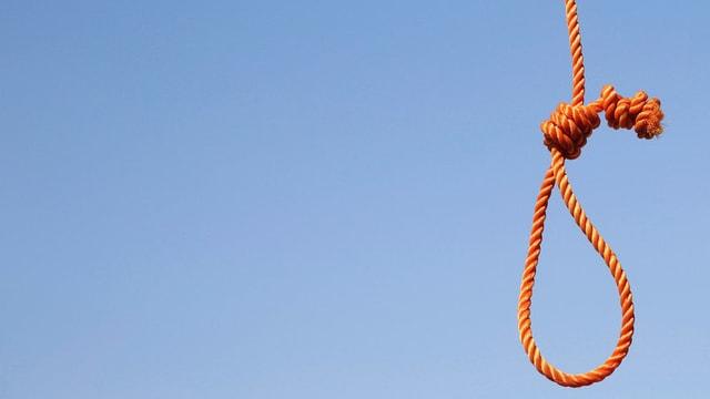 In Afghanistan, wie hier in Kabul, werden Menschen mit der Schlinge getötet.