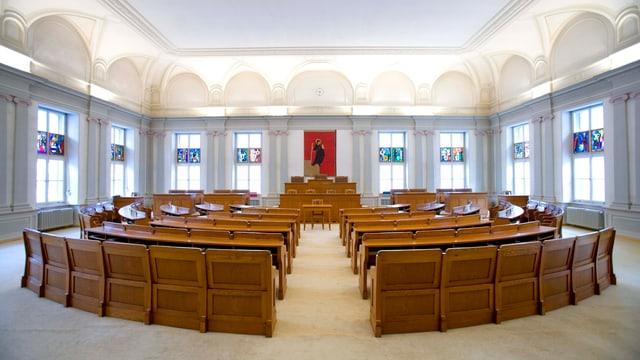 Der Glarner Landratssaal