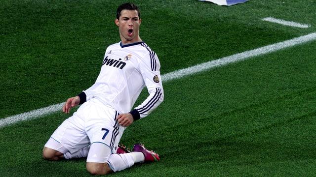 Cristiano Ronaldo traf in den letzten 6 Spielen im Camp Nou immer mindestens 1 Mal.