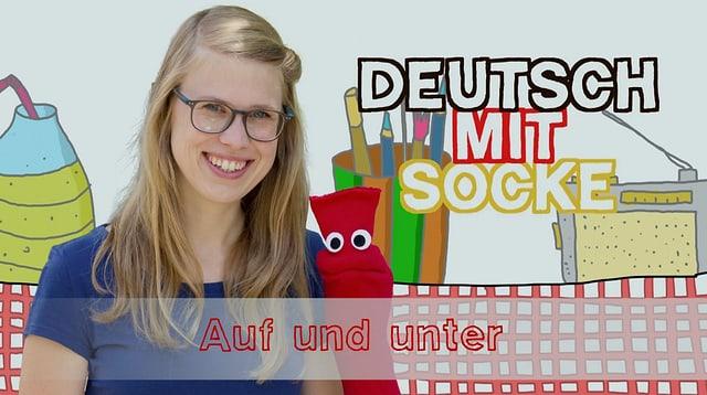 Video «Deutsch mit Socke: Auf und unter (29/35)» abspielen