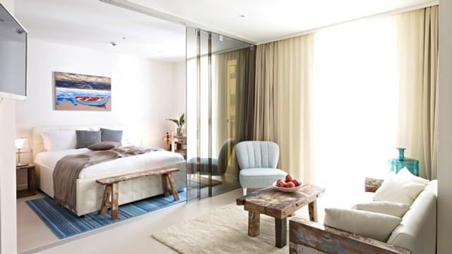 Eingblick in eine der künftigen Wohnungen für Business Nomaden