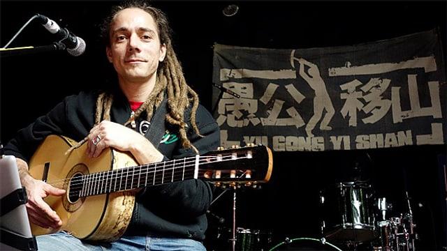 Der Reggae-Sänger 2013 in China, genauer gesagt im Yu Gong Yi Shan-Club in Peking.