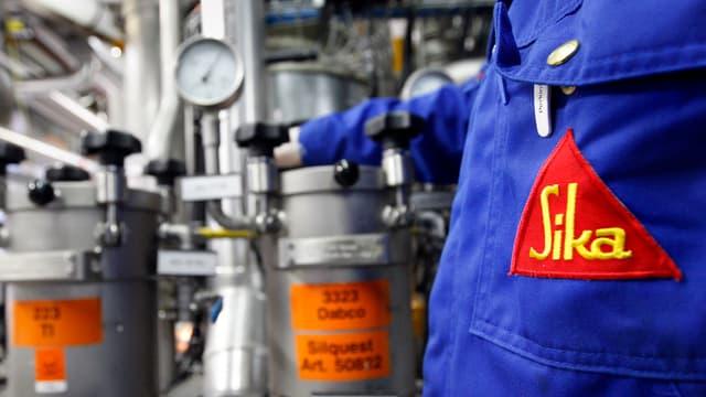 La svieuta dal concern svizzer da chemia da construcziun e collada Sika è creschida il 2017 per 8,9%.