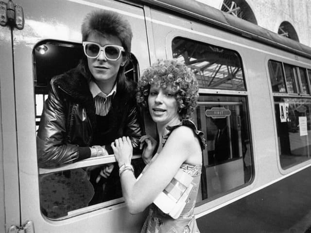 David mit seiner ersten Frau Angie
