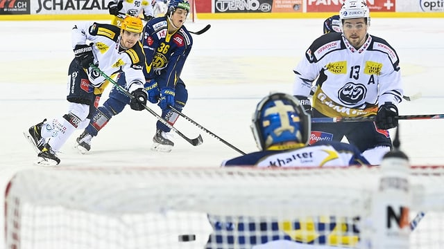 Ina scena d'in gieu da hockey.