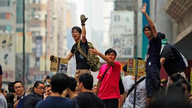 Übersicht der Proteste