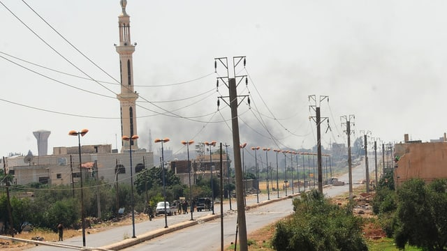 Angriff in Daraa in Syrien