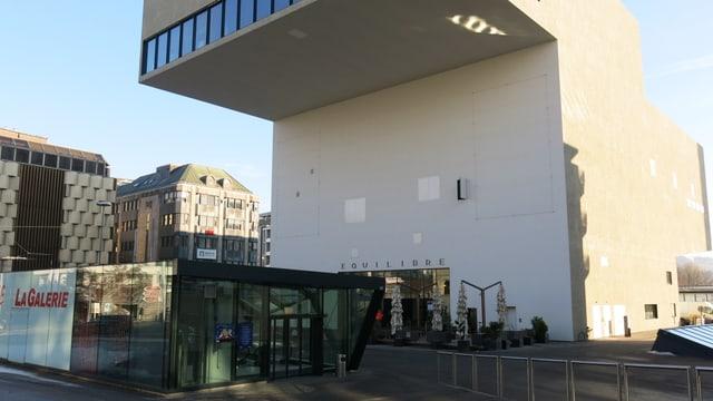 Das Kulturhaus Equilibre in Freiburg.
