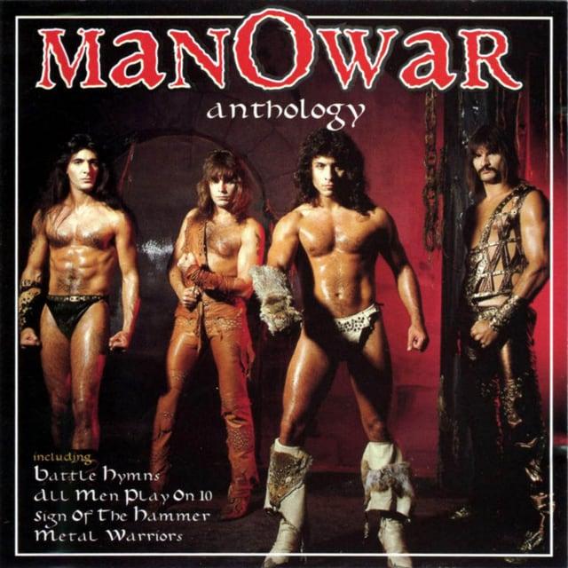 Manowar zeigten sich gerne halb nackt.