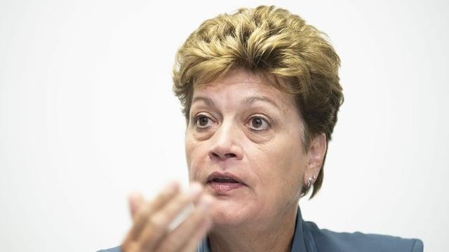 Portrait der Zürcher Bildungsdirektorin Silvia Steiner