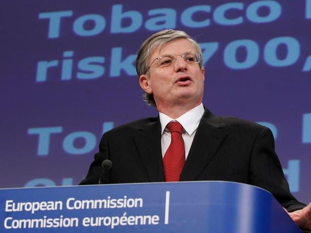 EU-Gesundheitskommissar Tonio Borg.