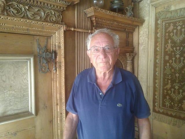 Ami Conrad (81), è stà durant passa 40 onns mainafatschenta da la crappera Conrad ad Andeer.