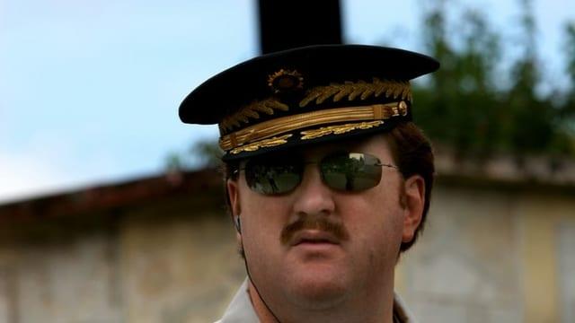 Erwin Sperisen in seiner Zeit als Polizeichef von Guatemala.