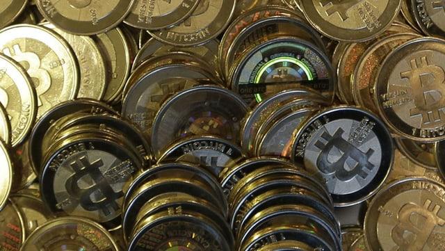 Bitcoin-Müntzen
