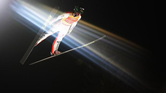 Peter Prevc im Scheinwerferlicht