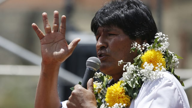 Il president da la Bolivia Evo Morales.
