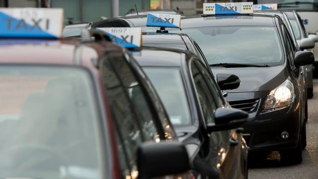 Bild von Taxis