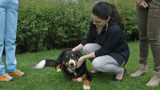 Video «Kommunikation mit Tieren» abspielen