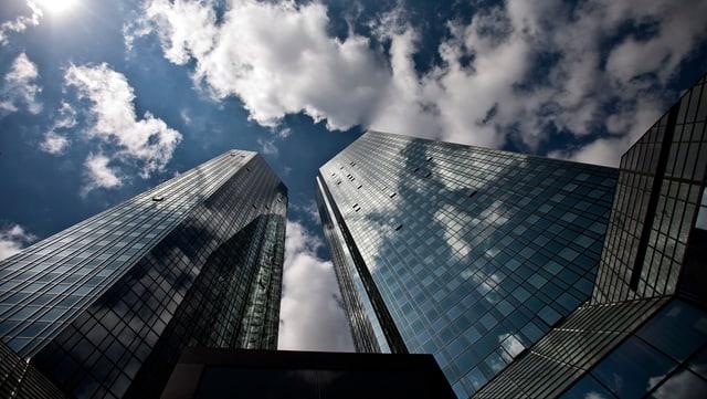 Turs da la Deutsche Bank a Frankfurt am Main.
