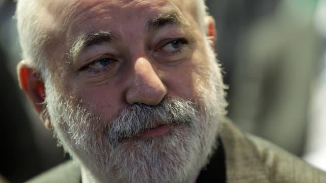 Portrait von Viktor Vekselberg mit weissem Bart.
