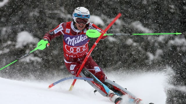 Kristoffersen gewinnt den Slalom von Wengen.